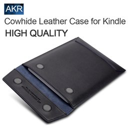 Wholesale inch Tablet Case for Kindle Paperwhite Voyage Kindle th th Gen for crema shine High Quality Cowhide Leather