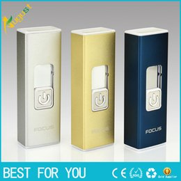 Rechargeable Electronic Lighters Cigarette Lighter USB lighters New Fashion Smoking Windproof Lighters Arc lighter USB lighter
