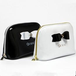 Wholesale MB PU leather custom soft bag beauty cosmetic make up bag fashion PU makeup pouch cases