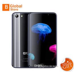 Promotion caméra verre usb Original elephone s7 Touche ID 4G LTE 64-Bit Deca Core MT6797 4 Go 64 Go Android 6.0 5,5 pouces Vitre courbée 1920 * 1080 FHD 13MP Appareil photo Smartphone