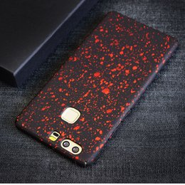 Wholesale for HUAWEI P9 P9 PLUS Bling Star Universe Phone Case for HUAWEI Mate9 Hard Planstic PC Shining Sparkling Back Cover Fundas