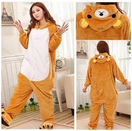 Maternity Clothing Easilybear Unisex Adults Casual Flannel Hooded Pajamas Cosplay Cartoon Cute Animal Onesies Sleepwear Suit Nightclothes