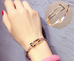 2017 European and American style Charm bracelet women bracelets diamond bracelet 71