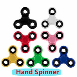 2017 Newest Hand Spinner Fingertips Spiral Fingers Fidget Spinner EDC Hand Spinner Acrylic Plastic Fidgets Toys Gyro Toys With Retail Box