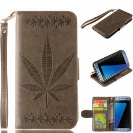 For samsung s7 edge flip case 3D maple leaf pu kulit samsung galaxy s7 S7EDGE tepi case untuk samsung galaxy s7 s7 edge phone case penutup