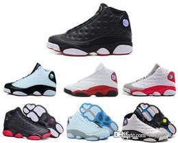 Wholesale Shinny Fabric - 2016 cheap DB DOERNBECHER Retro XIII 13s mens basketball shoes athletic trainer sports footwear for men sneaker shinny leather free ship Jum