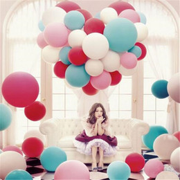 Wholesale Latex Free Balloon Party Decoration Fashion cm Big Size for Promotion Wedding Balloon Party Balloon DHL Free