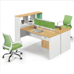 Wholesale new type waterproof fireproof wooden commercial furniture optional color customized size durable professional office desk chair