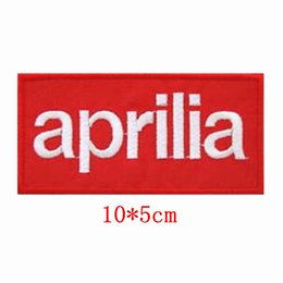 Wholesale Aprilia motor racing Embroidered iron on patch