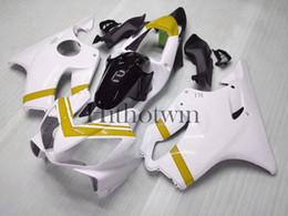 Wholesale all white CBR600F4i white ABS Fairings Kit Fairing For honda CBR600 CBR F4i Aftermarket