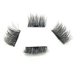 Fashion Women False Eyelashes Magnetic Lashes eye makeup Touch Soft Wear With No gule magnet eyelashes Perfect for everyday wear10sets lot