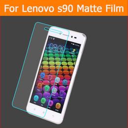 2017 pantallas digitales Película antideslumbrante del protector de la pantalla de Wholesale-3pcs para el lenovo s90 5