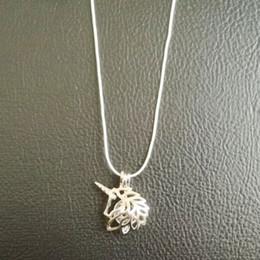 2017 bijoux de pierres précieuses 18KGP Pearl Cage Pendentifs unicorn Perle Gem Perles Cage Lockets Pendentifs, Wish Perle Pendentif Montres pour DIY Fashion Necklace Jewelry bijoux de pierres précieuses à vendre