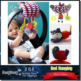 Wholesale Infant Toys Baby Crib Revolves Around The Bed Stroller Playing Toy Crib Lathe Hanging Baby Rattles Mobiles