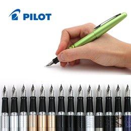 Wholesale LifeMaster Pilot Metropolitan Fountain Pen Medium Nib Animal Print Color Body Writing supplies FP MR2 FP MR3