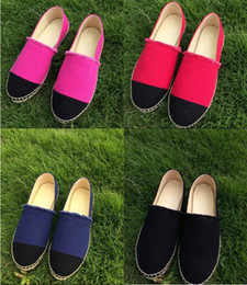 2017 New Breathable slip minimalist Thick Soles Fashion Flats Canvas Espadrilles Casual Ladies Loafers Shoes Women Size 34-42