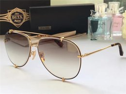Wholesale DITA TALON new fashion brand classic trend sunglasses men and women designer plate metal design dita