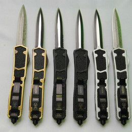 microtech Sword ant 12 models dual action D E blade Hunting Folding Pocket Knife Survival Knife Xmas gift for men 1pcs