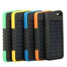 Оптово-2016 Новая солнечная панель Power Bank USB Внешнее зарядное устройство для сотового телефона реальная емкость 5000mAh от Производители панели солнечных ячеек оптового