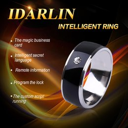 Wholesale Jewelry Factory in China Alibaba Hot Sale Fashion Jewelry NFC Smart Ring Magic Ring