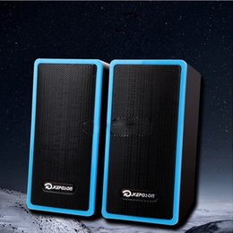 USB2.0 3.5mm PC Speakers Subwoofer for Desktop Laptop Notebook Tablet FM Radio Smart Phones T10 Mini Speaker