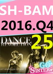 on Top-sale 2016.10 October Q4 New Routine SH BAM 25 Exercise Fitness BAM25 SH25 Video DVD + Music CD