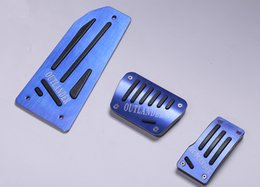 Wholesale For Mitsubishi outlander Clutch Accelerator Gas Brake Aluminum alloy pedal Clutch Pedal automatic
