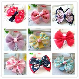 Small Girls Solid Ribbon Hair Bows With Clip Boutique Hair Clip Hairpin Baby Hair Accessories Kids Hairpin