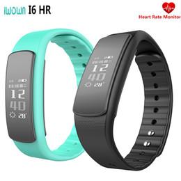 Mi bracelet de bande à vendre-2017 nouveau IWOWN i6 HR Cardiofréquencemètre Smart Band Wristband avec Fitness Tracker Sport Smartband Bracelet pk xiaomi mi bande 2