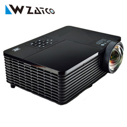 Wholesale Best inch ANSI ultra short throw HDMI USB RJ45 DLP D Projector Daylight Outdoor P for Business Advertise Education