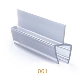 window doors design waterproof Weather Strips PVC profile for glass