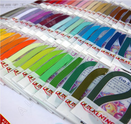 Free Shipping(100 strips package) 3&5&10mm 60 Colors Quilling Paper DIY Decoration Pressure Relief Gift