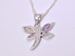 Wholesale & Retail Fashion Jewelry Fine Pink Fire Opal Stone Silver Plated Pendants For Women PJ16021416