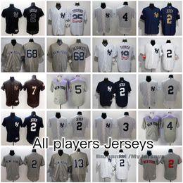 New York Yankees All Jerseys Derek Jeter Jacoby Ellsbury Alex Rodriguez Gary Sanchez Mariano Rivera Mickey Mantle Bernie Williams AND MORE