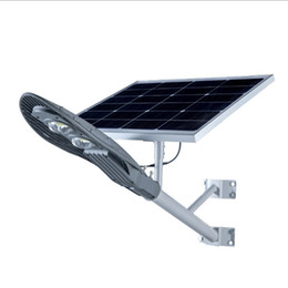 60W панель солнечных батарей 40Watts светодиодный источник света Солнечный уличный дорожное освещение Водонепроницаемый IP65 Солнечный светильник сада от Производители панели солнечных дорог