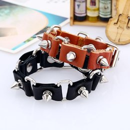Bracelet Cowhide jewelry Alloy bracelet Material: cowhide + alloy + iron Variety of crystal bracelets, different style, welcome to wholesale