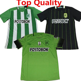 Wholesale Soccer Jersey Nacionals Football Shirts Arias Cardenas Luis Carlos Home Medellin Atletico Maillot de foot Top Quality