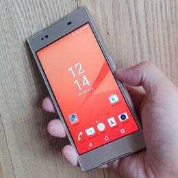 Quad Núcleo 5.2 pulgadas SN Z5 XPERIA Móvil WCDMA 3G Android 5.1 RAM 1GB ROM 8GB QHD Pantalla 5MP Cámara desbloqueada Teléfono celular inteligente Retial caja desde teléfono celular 3g wcdma proveedores
