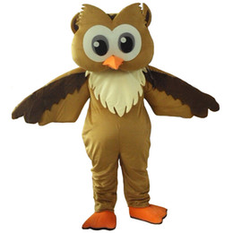 Wholesale 2016 Hot Sale night owl mascot costume fancy dress Interesting clothing Animated characters for part and Holiday celebrations