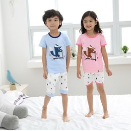 Children's wear boy's summer wear suit personality cuhk in 2017, the new children children's cotton short sleeve T-shirt and pants