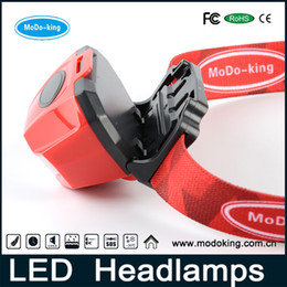 Outdoor Camping rechargeable led head lamp  AAA battery headlamp   led headlamp 180 Lumensp   hiway by modo-king