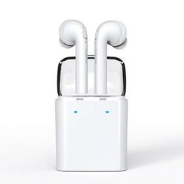 Wholesale Twins Earphone Original Dacom MINI Double ear Wireless Bluetooth Headset True Wireless Technology Sport Earphone TWS For iphone Smartphone