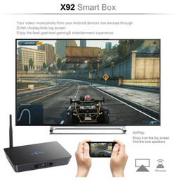 Wholesale Listed On The New X92 GB Octa Core Android Latest FULLY LOADED Smart TV BOX K