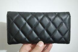 Wholesale Lowest Price New Style Women Wallets Long Luxury Women s Purses Classic Wallet Fashion Portefeuille Brand Femme PU Leather Lady wallet