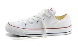 Wholesale DROP Livraison Haute qualité RENBEN Classic Low Top Haut Top toile de sport chaussures sneaker hommes femmes chaussures de toile taille EU35 détail