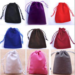 Small Velvet Favor Drawstring Bag 7x9cm(2.75 x 3.5 inch) Pack of 100 Rings Earrings Stud Jewelry Gift Packaging Pouch