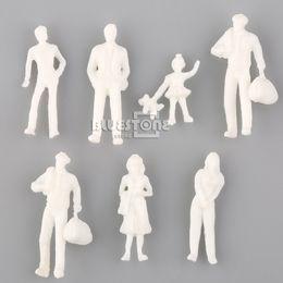 Compra Online Figuras de la gente modelo-Venta al por mayor-1 Set de 100 modelo de la gente de la figura del tren Pasajeros 1: 200 Juguetes de la escala de HO Envío libre