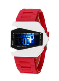 Factory direct fighter LED fashion sport watch cool watch aircraft explosion models recommended 80001