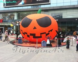 Multi-size Advertising Giant Halloween Pumpkin Inflatable Pumpkin for Halloween Inflated Cushaw