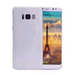 Pouces 1gb en Ligne-5.2inch Goophone S8 3G WCDMA Quad Core MTK6580 1GB 8GB peut afficher 1G / 128G 5.5 pouces IPS Android 6.0 GPS WiFi Smartphone